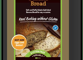 Gluten Free Banana Bread – Retail 500g