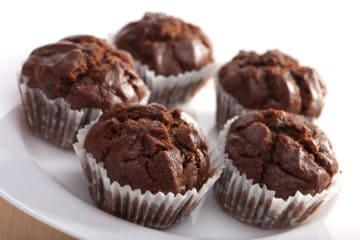 CHOCOLATE MUFFINS (GLUTEN FREE)